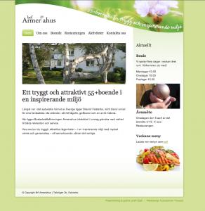 Tryggt och trivsamt 55+boende i Skanör Falsterbo