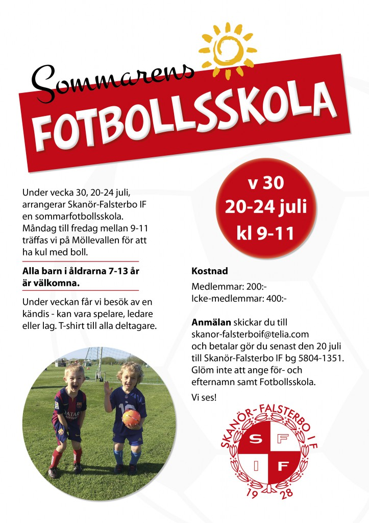 Fotbollsskola_SFIF_design by epafi