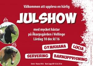 Julshow-Vellinge Hästssportförening