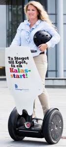 Dekorskylt Segway Öresund by epafi