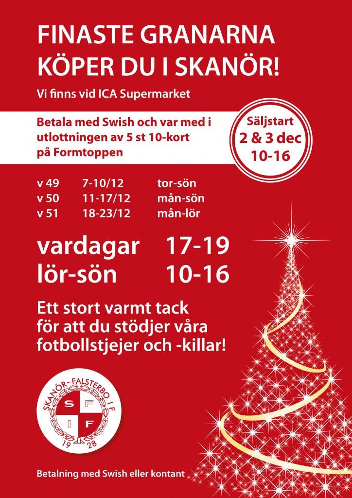 Julgransförsäljning SFIF Skanör_2017